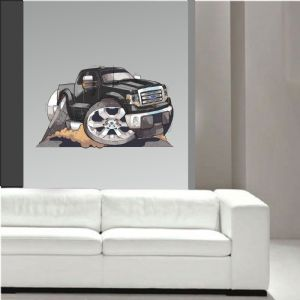 Koolart Large 70cm American Ford F150 Pickup Truck Wall Art